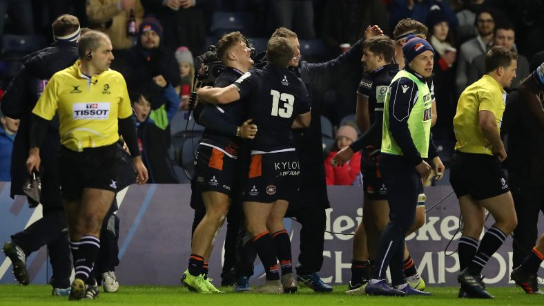 Edinburgh clinch home quarter-final with victory over Montpellier