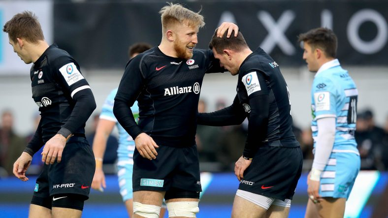 Saracens secure No.1 seeding with Glasgow success
