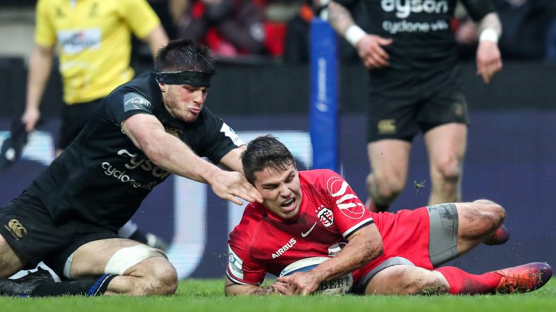 Toulouse to face Racing 92 in last eight after hard-fought win over Bath