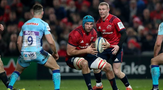 Beirne rewarded with Ireland Six Nations call-up