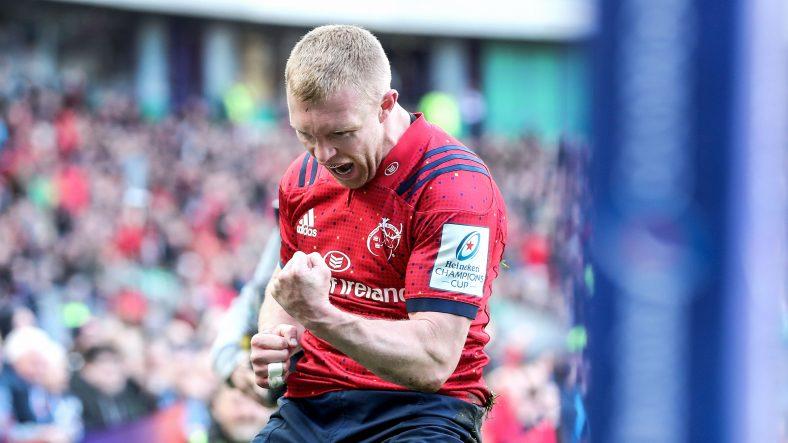 Earls brace helps Munster to 14th European semi-final