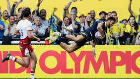 Clermont reach last four after beating Northampton in 13-try thriller