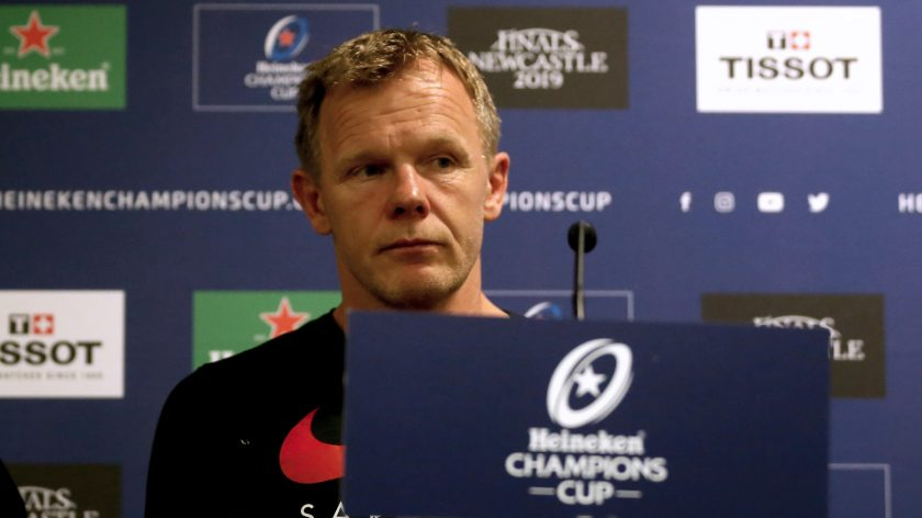 Saracens 'determined' to lift Heineken Champions Cup says McCall