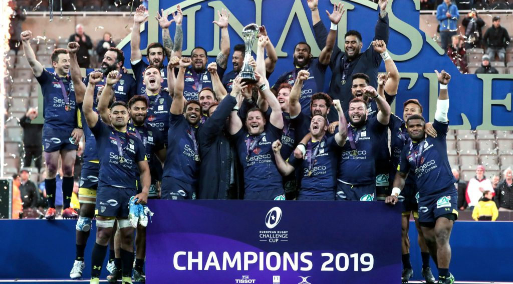 Clermont clinch third Challenge Cup with victory over La Rochelle