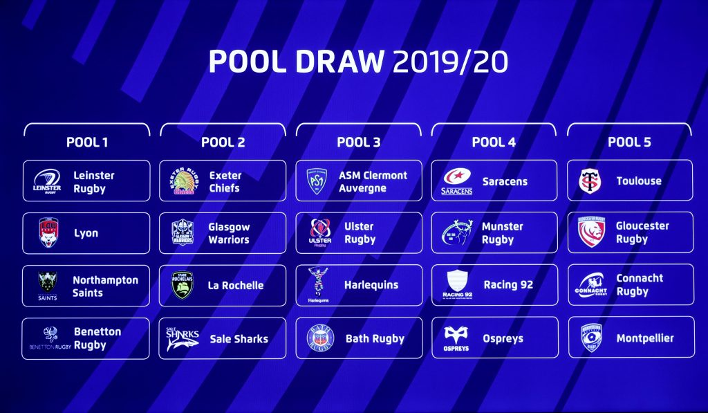 Heineken Champions Cup and Challenge Cup Pool Draw highlights