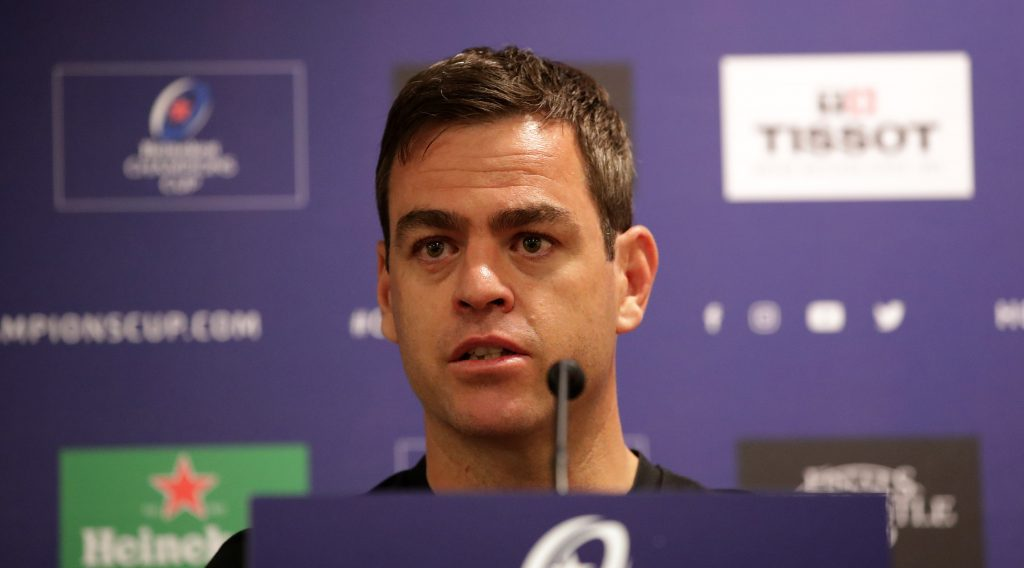 'Massive challenge' awaits Munster says Van Graan