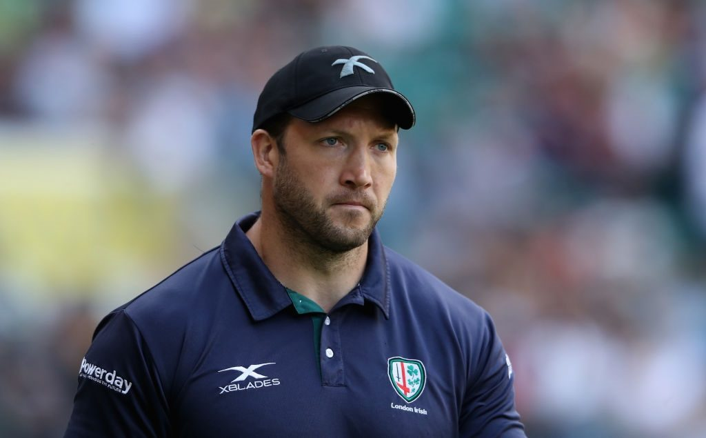 London Irish forwards coach reflects on 'tough' draw