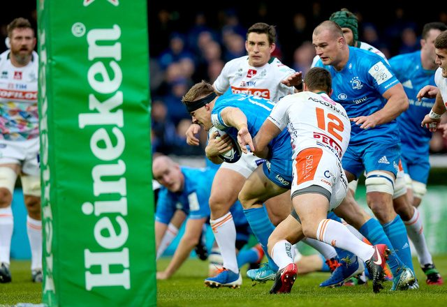 Ringrose hat-trick powers Leinster to opening victory