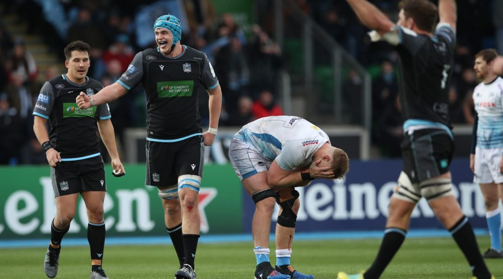 Glasgow happy to be underdogs at Exeter