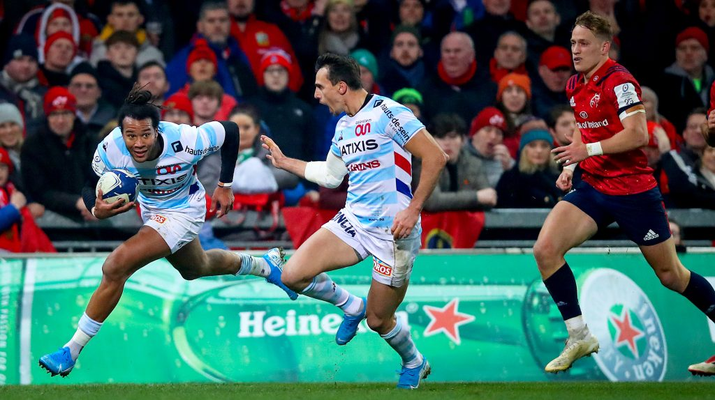 Thomas lands second Heineken Champions Try of the Round award
