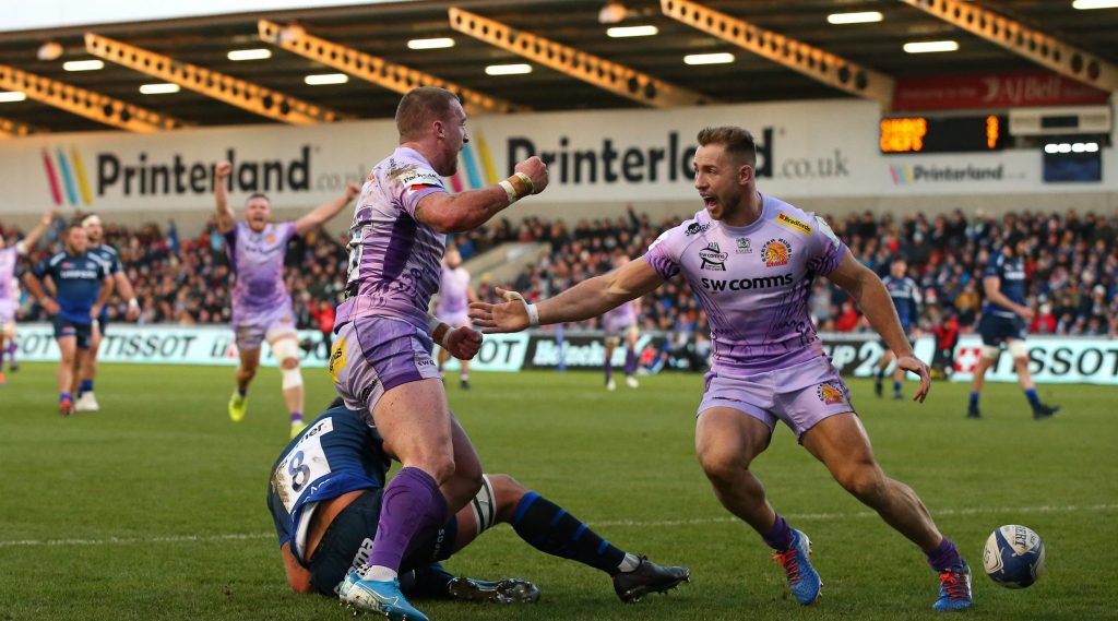 Exeter looking to continue European form