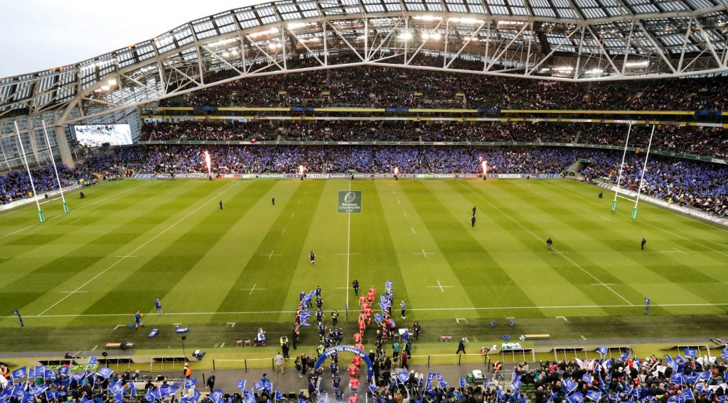 Bumper crowds to see out 2019 in the Heineken Champions Cup