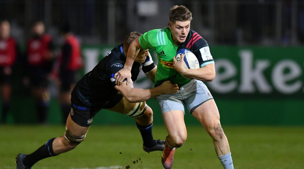 Harlequins on top against Bath after scintillating scrap
