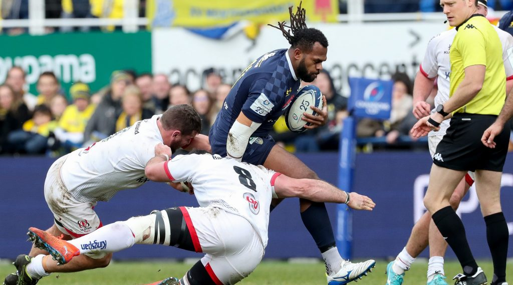 Clermont dominate second half to see off Ulster