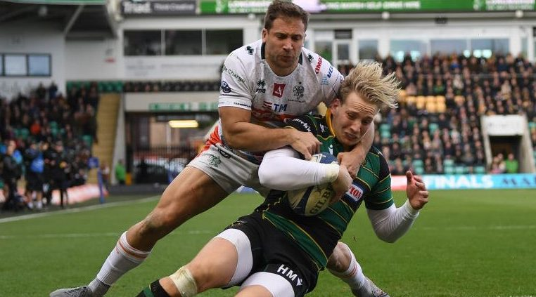 Northampton survive massive scare to overcome plucky Benetton