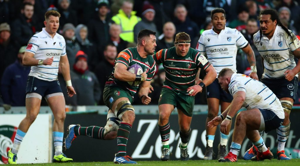 Challenge Cup 'huge' for Leicester says Coghlan