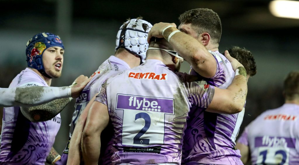 Exeter dominate in bonus-point win over La Rochelle