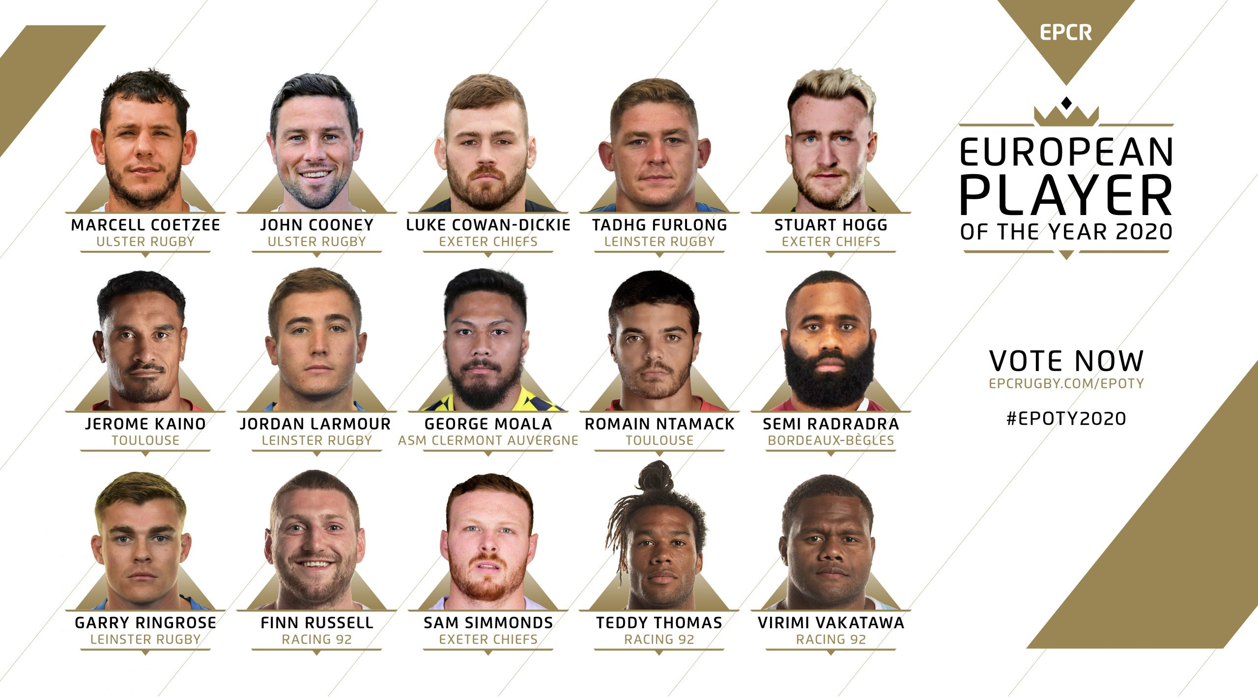 EPCR European Player of the Year