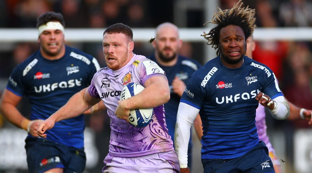EPCR European Player of the Year nominee #13–Sam Simmonds (Exeter Chiefs)