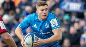 Eight Leinster players in Ireland XV
