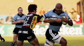 Playing alongside Lomu a Heineken Cup highlight for Williams