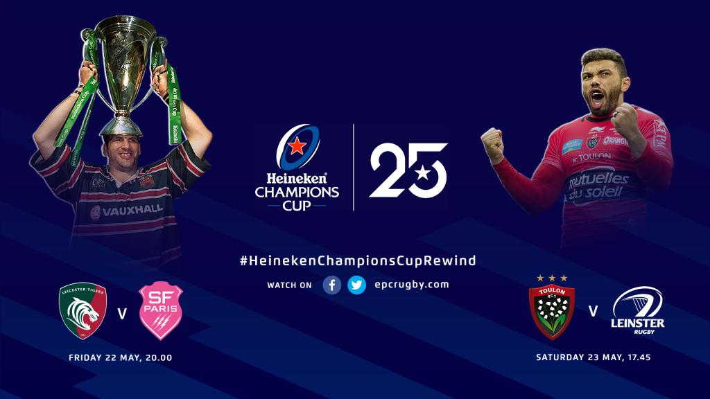 Double Heineken Champions Cup Rewind action this weekend!