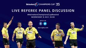 Heineken Champions Cup Rewind Special – Live Referee Panel