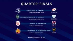 Quarter-final kick-off times altered