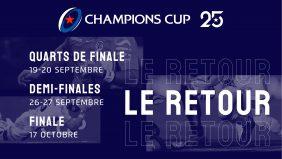 La Champions Cup se prépare pour des quarts de finale épiques !