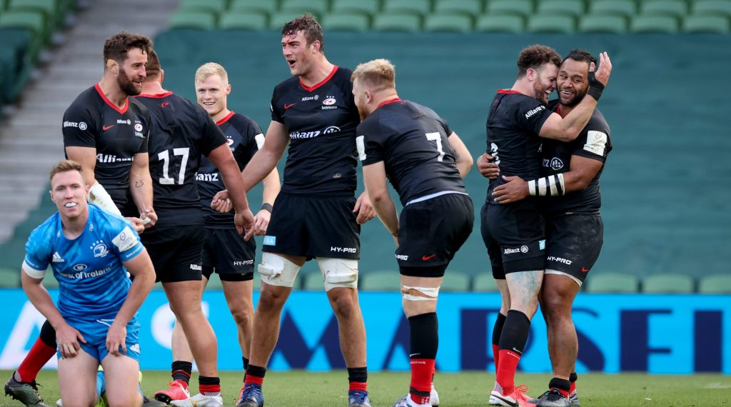 Saracens edge out Leinster in Heineken Champions Cup classic