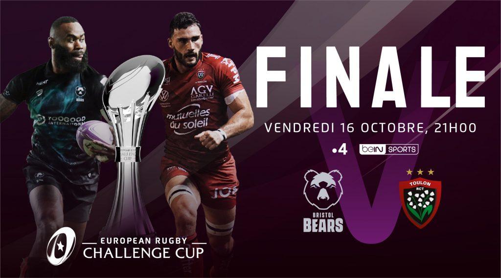 Bristol Bears et le RC Toulon en quête d'un premier sacre en Challenge Cup