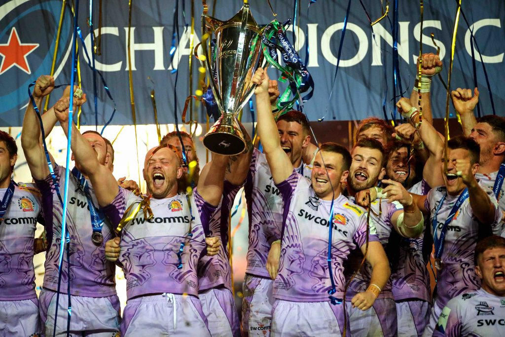 Exeter Chiefs sacré Champion d'Europe !