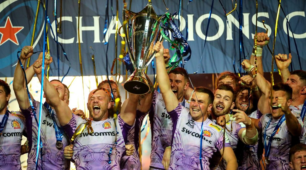 Exeter Chiefs secure first Heineken Champions Cup after dramatic success over Racing 92