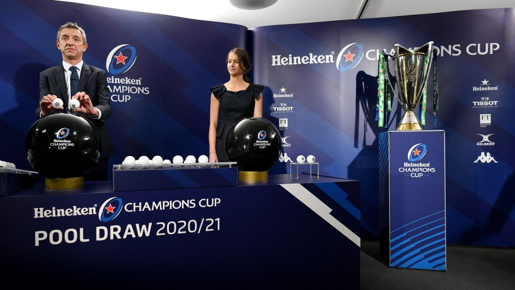 Heineken Champions Cup Pool Draw maps out first steps on road to Marseille 2021