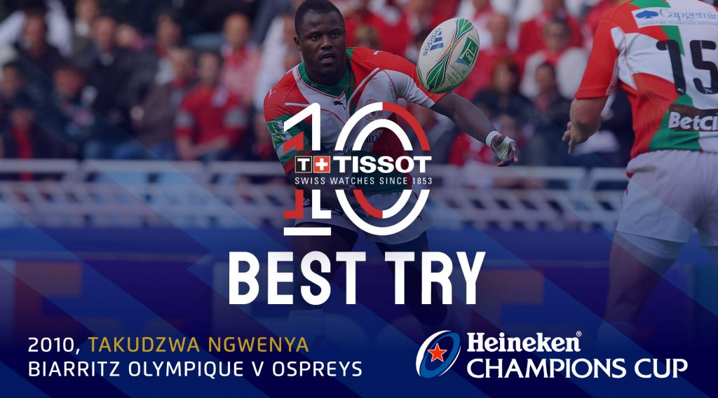 Ngwenya try named tournament's best