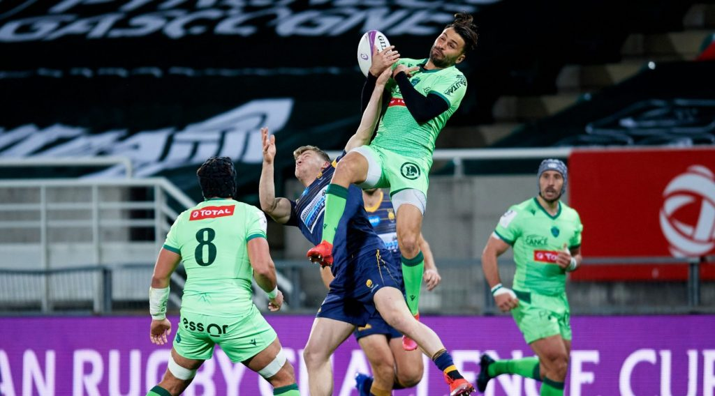 Last-gasp Pau defeat Worcester in Challenge Cup