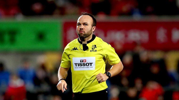 Referee change – Connacht Rugby v Bristol Bears