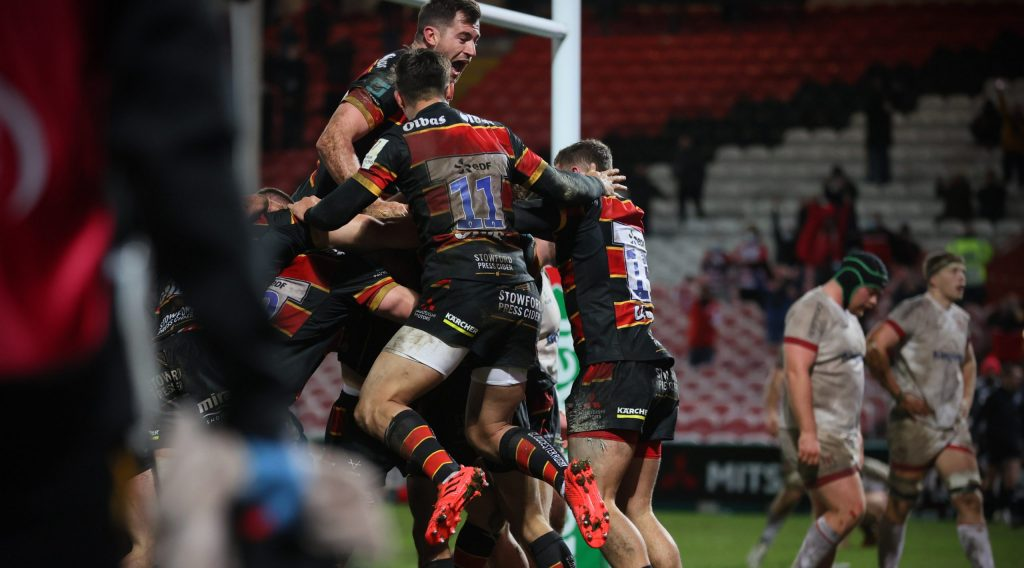 Barton try gives Gloucester dramatic late success