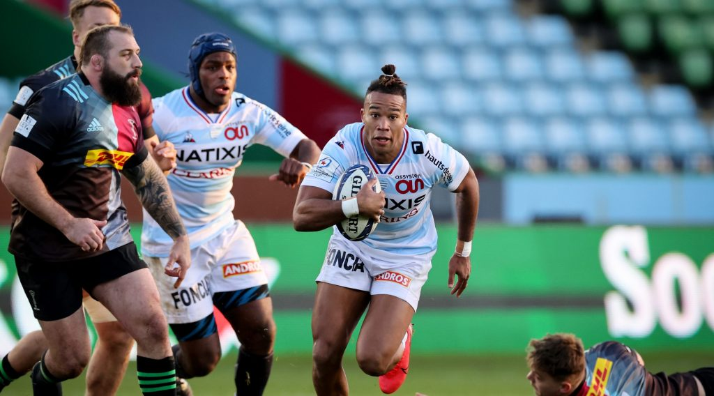 Seven-try Racing 92 blitz Harlequins