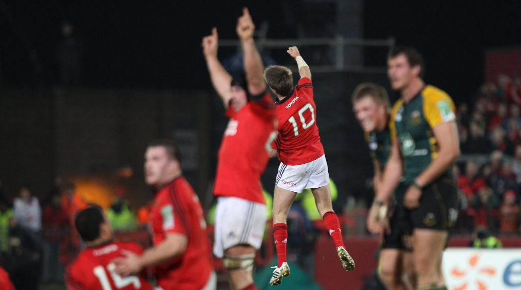 O'Gara kicks off Tissot 10 drop goals with Munster match-winner