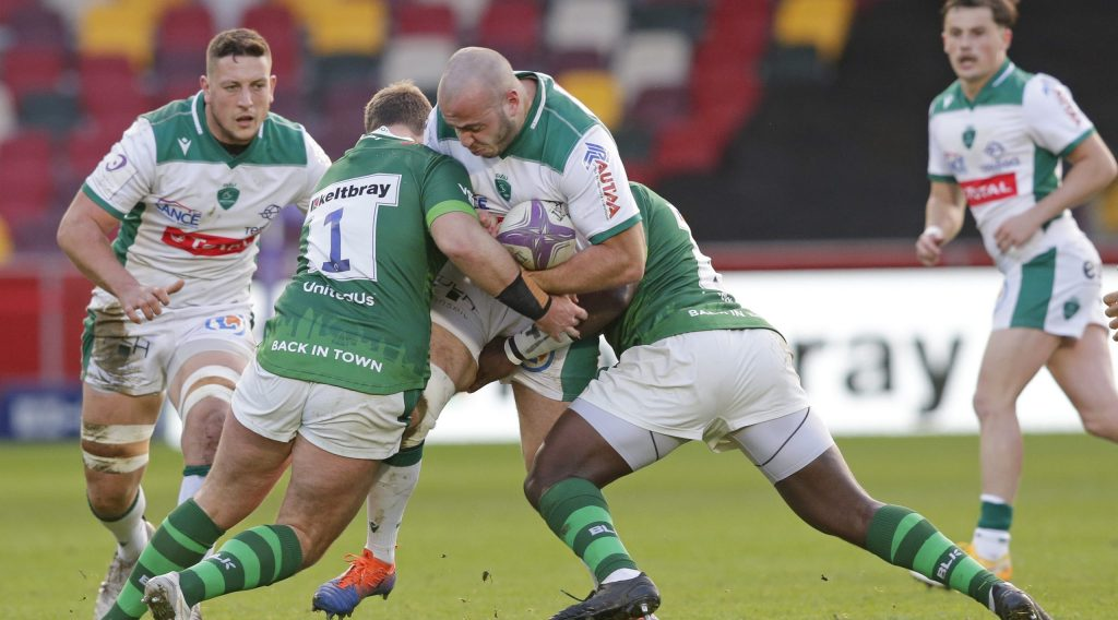 Pau lead the way in Challenge Cup carries chart