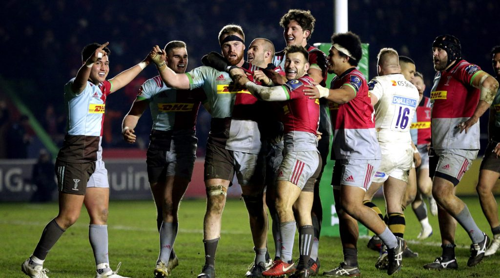 On This Day: Quins rally for famous victory