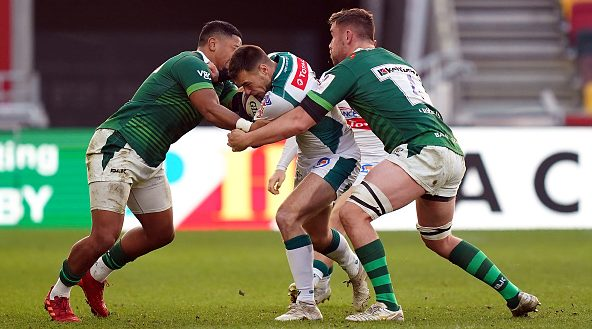 French duo lead the way in Challenge Cup offloads