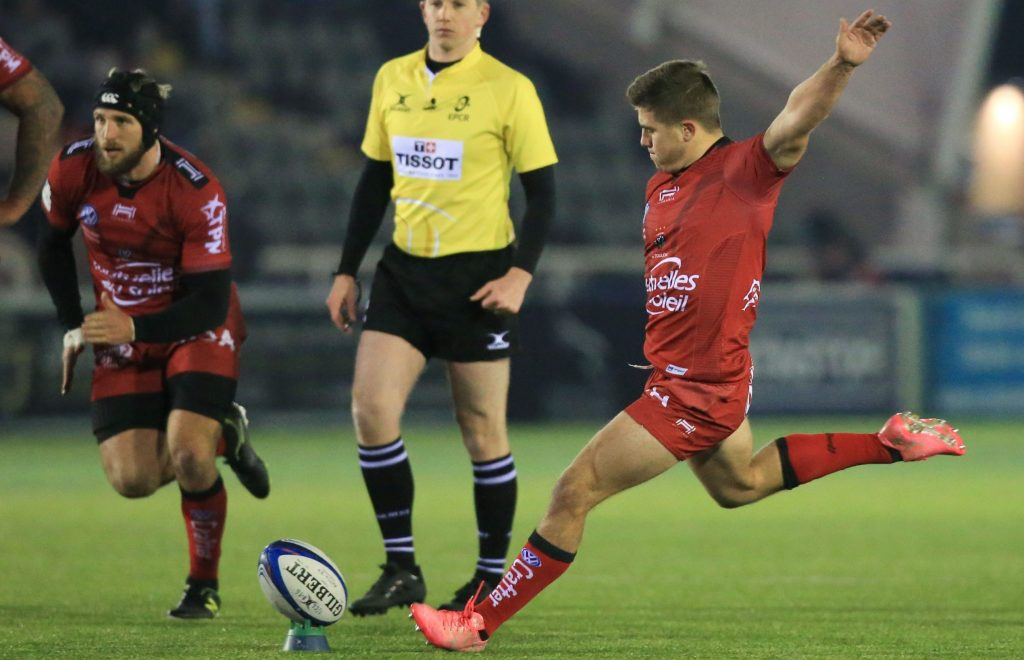 Carbonel kicks Toulon to victory in heavyweight TOP 14 clash