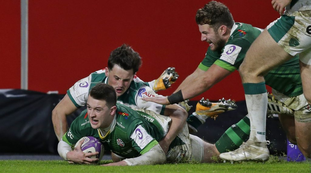 Preliminary stage pace-setters London Irish take on Cardiff Blues