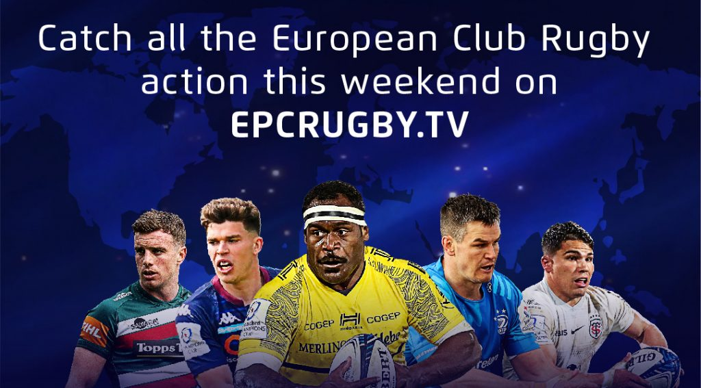 Watch this weekend's action live on EPCRugby.TV!
