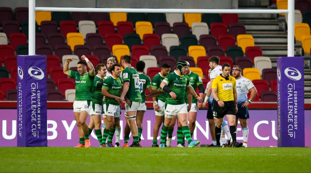 London Irish in remarkable comeback to deny Cardiff in Challenge Cup classic