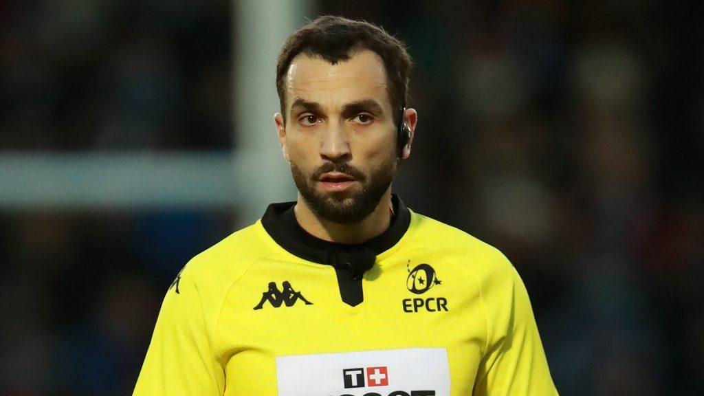 EPCR referee appointments – quarter-finals