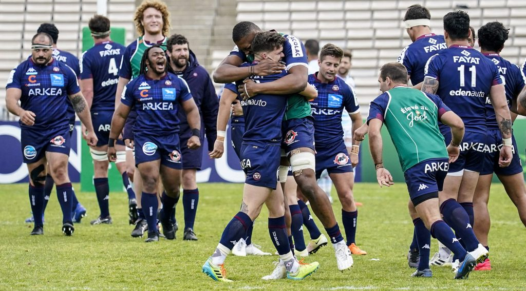Jalibert kicks Bordeaux-Begles into first semi-final