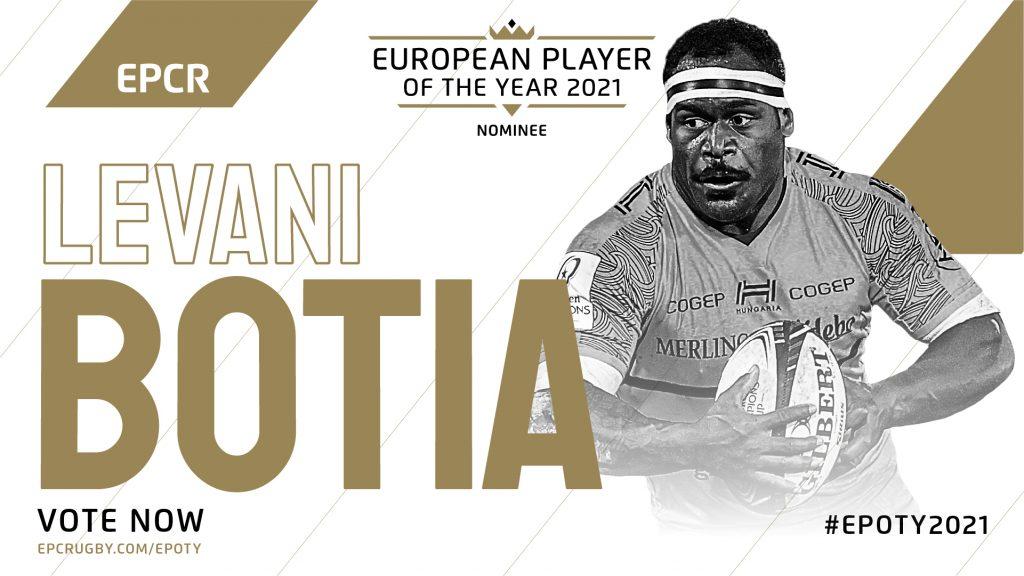 Botia the second La Rochelle player to make EPOTY shortlist